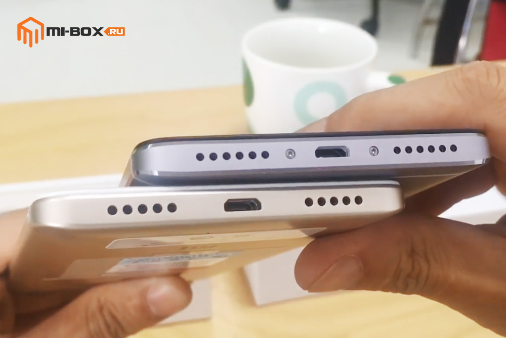 Сравнение Xiaomi Redmi Note 4 и Redmi Note 4x - нижняя грань