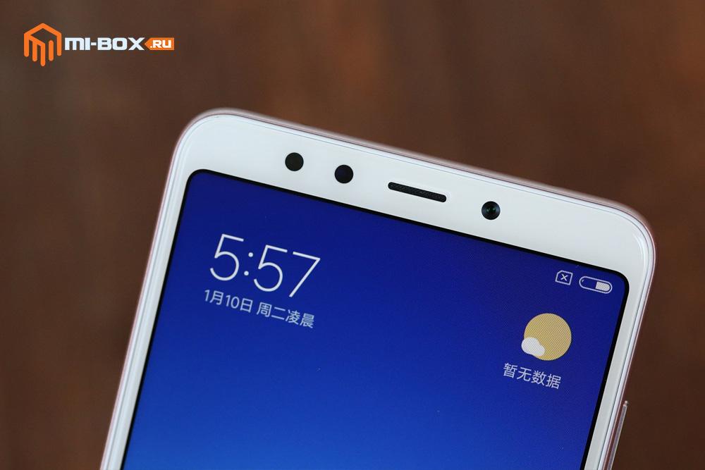 Обзор Xiaomi Redmi 5 - фронтальная камера