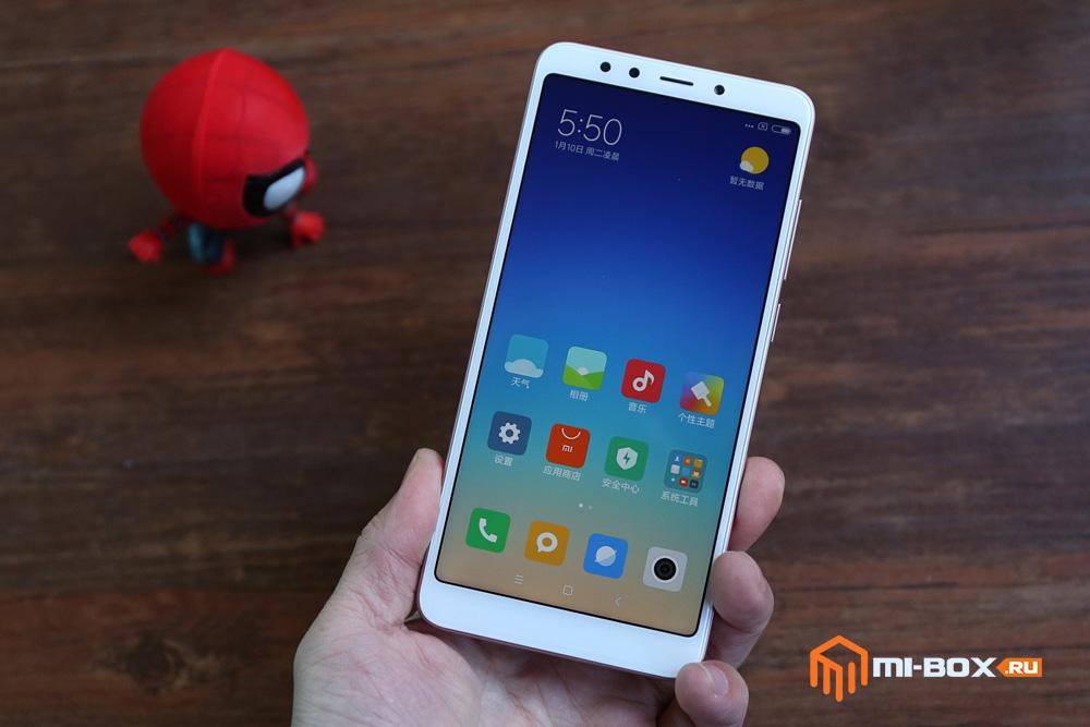 Обзор Xiaomi Redmi 5 - внешний вид