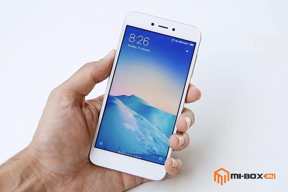 Обзор Xiaomi Redmi 5a - дисплей