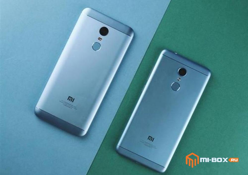 Смартфоны Xiaomi Redmi 5 и Redmi 5 Prime - задняя сторона