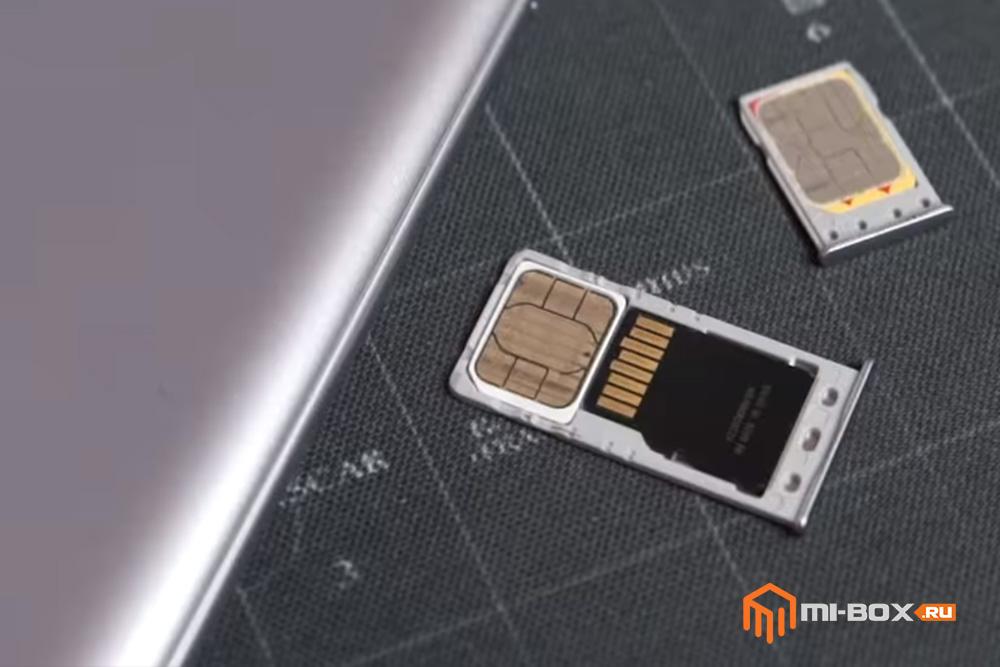 Как вставить симку в Xiaomi Redmi 5a