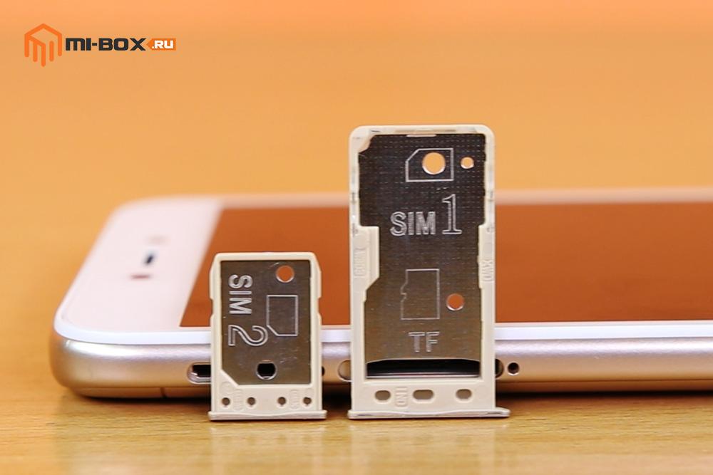 В чем отличие Xiaomi Redmi 4a от 5a - два слота