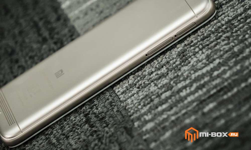 Xiaomi Redmi 5a - слоты для карт