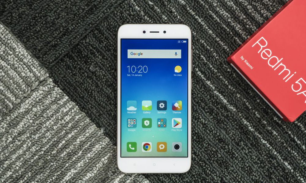Xiaomi Redmi 5a - внешний вид