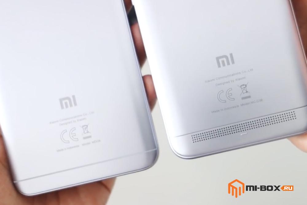 Что выбрать - Xiaomi Redmi 5a или Redmi Note 5a - решетка динамика 5a