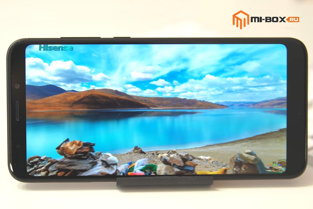 Обзор Xiaomi Redmi 5 Plus - дисплей