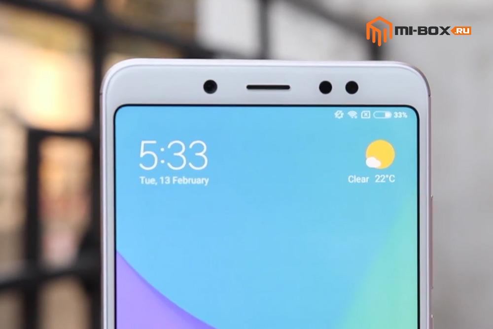 Обзор Xiaomi Redmi Note 5 PRO - фронтальная камера