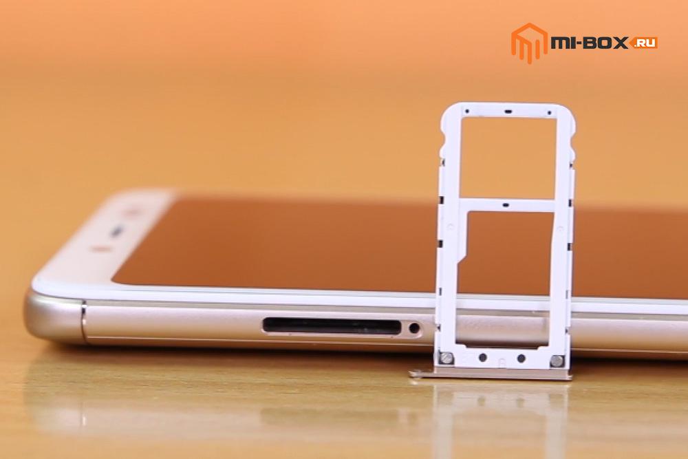Обзор Xiaomi Redmi Note 5 PRO - левая грань