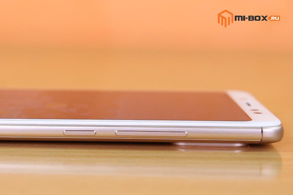 Обзор Xiaomi Redmi Note 5 PRO - правая грань