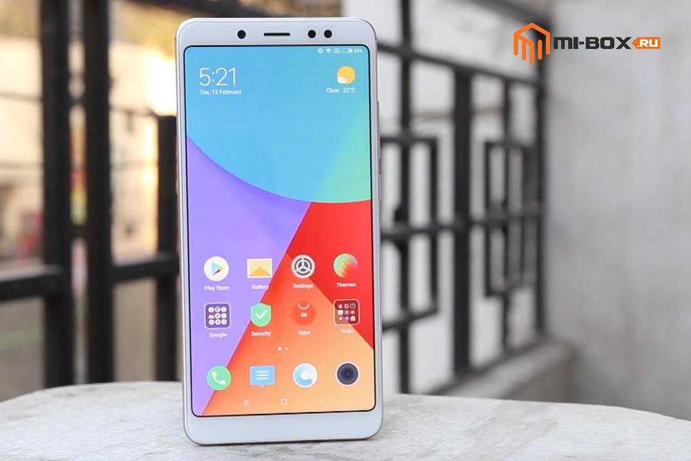 Обзор Xiaomi Redmi Note 5 PRO - внешний вид