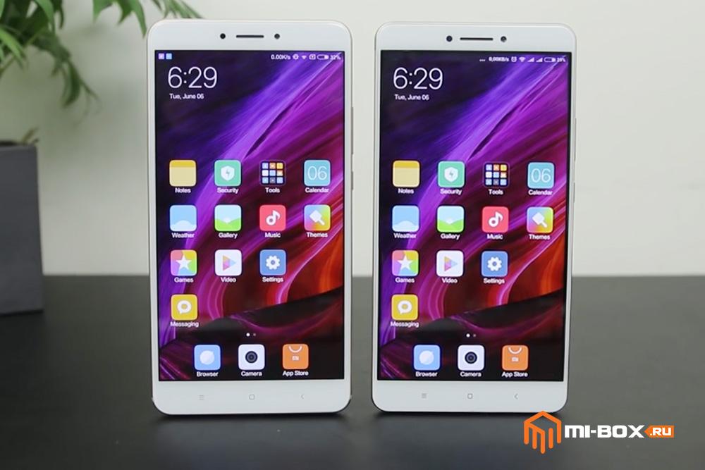 Xiaomi Mi Max или Mi Max 2 - что купить - передняя сторона