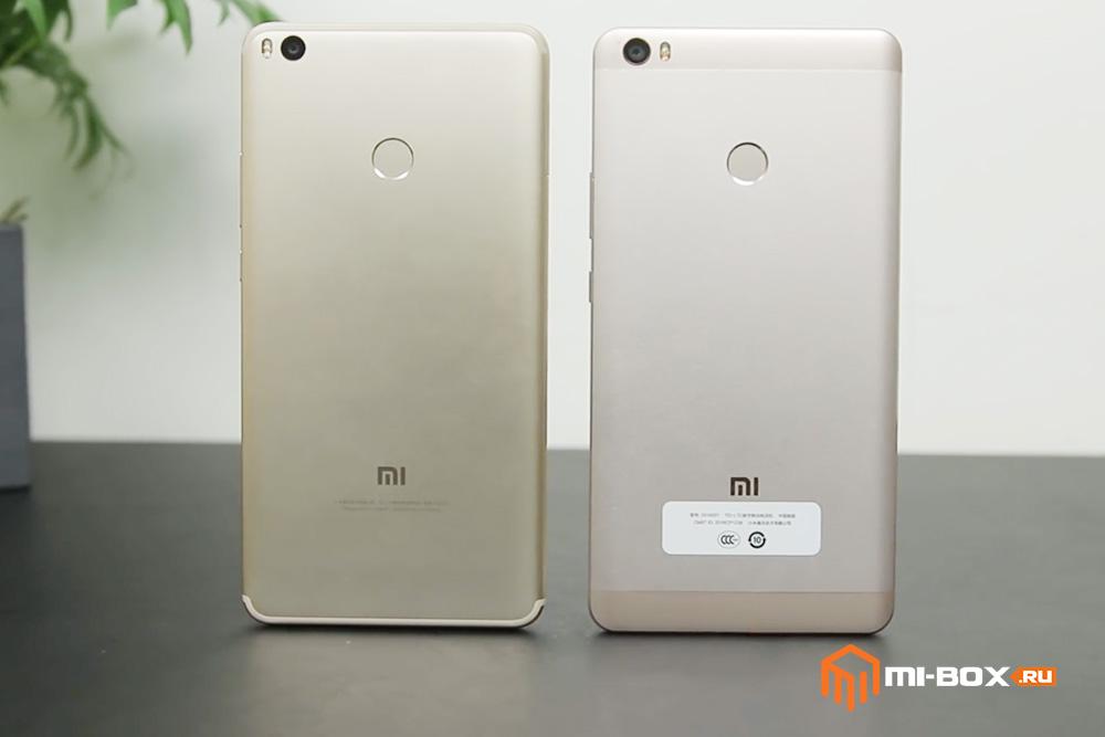 Xiaomi Mi Max или Mi Max 2 - что купить - задняя сторона