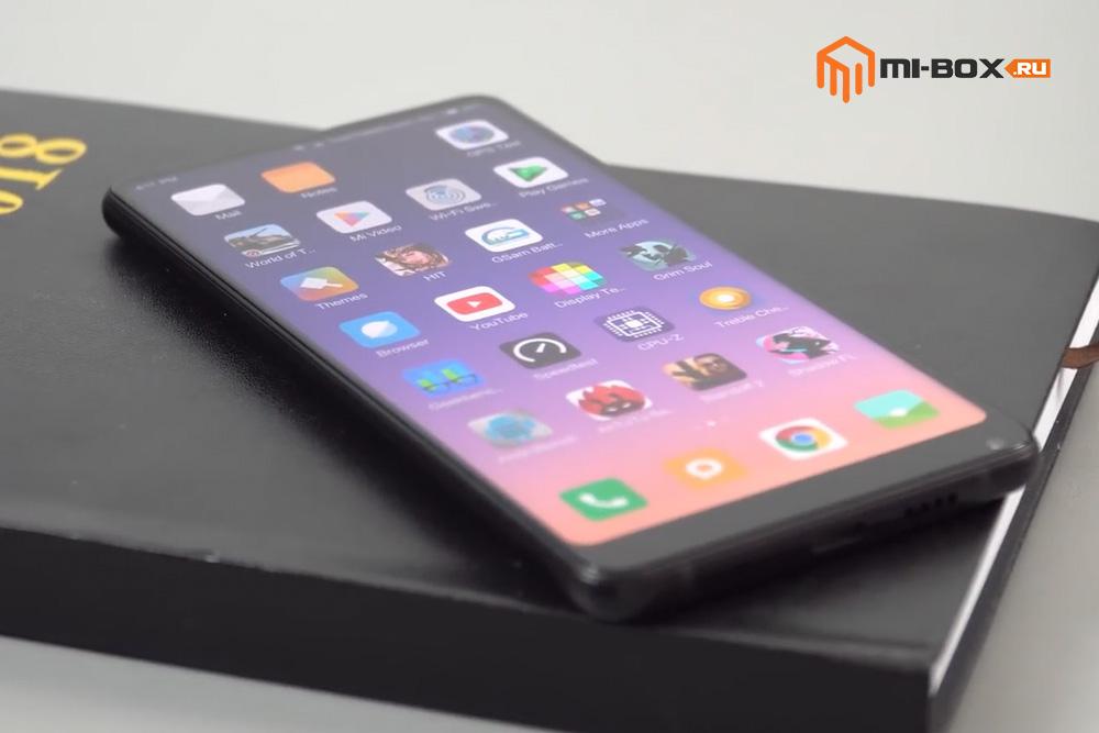 Обзор Xiaomi Mi Mix 2s - дисплей