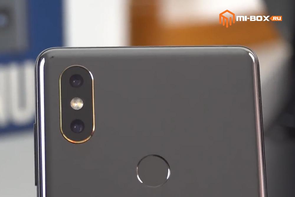 Обзор Xiaomi Mi Mix 2s - сканер отпечатков пальцев