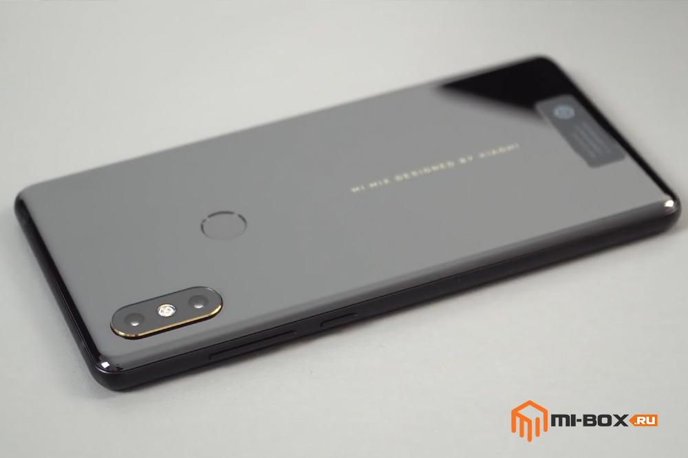 Обзор Xiaomi Mi Mix 2s - задняя сторона