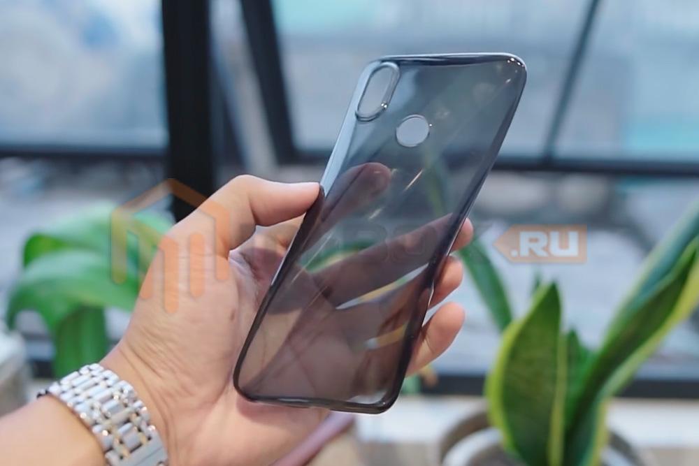 Обзор Xiaomi Mi 6x - силиконовый бампер