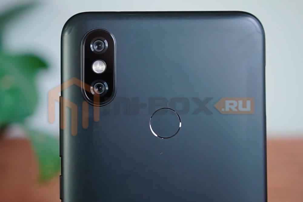 Обзор Xiaomi Mi 6x - сканер отпечатков пальцев