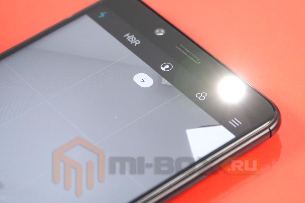Обзор Xiaomi Redmi Note 5 - фронтальная камера со вспышкой