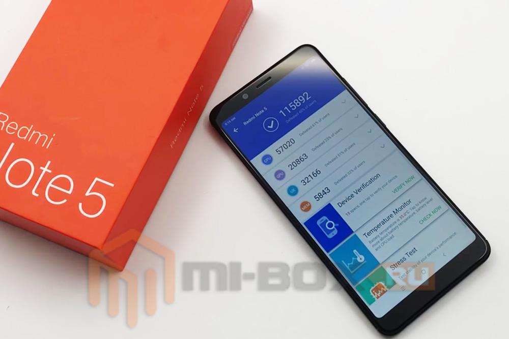 Обзор Xiaomi Redmi Note 5 - тест AnTuTu