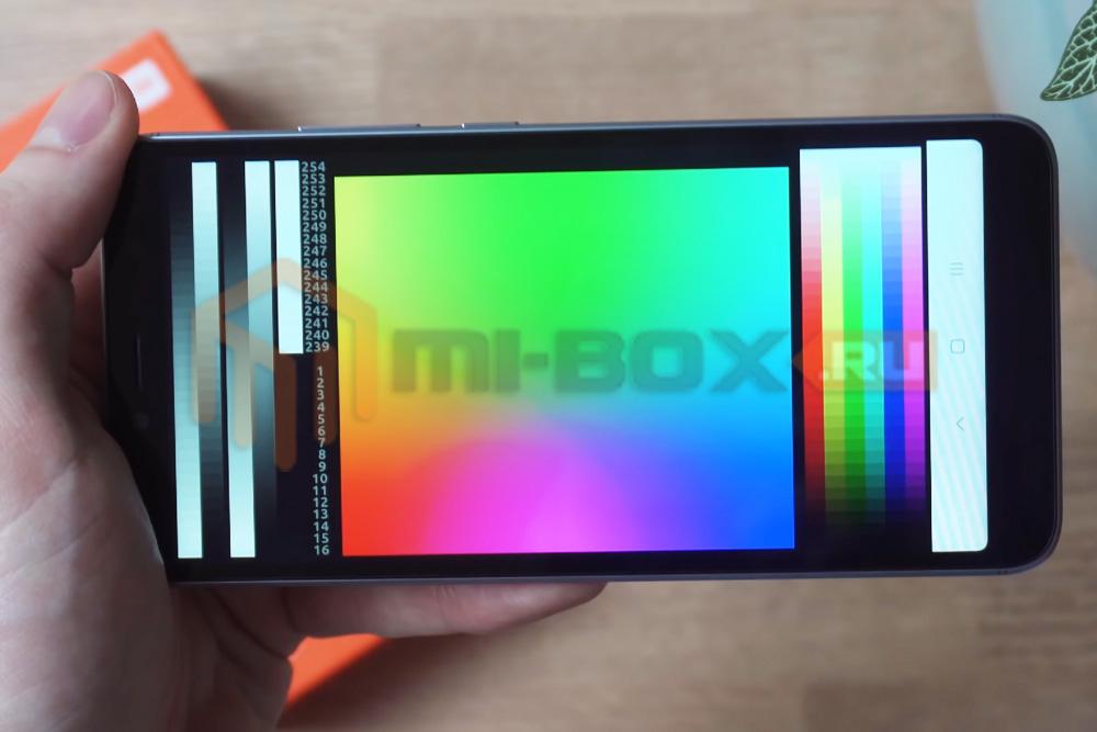 Обзор Xiaomi Redmi S2 - дисплей