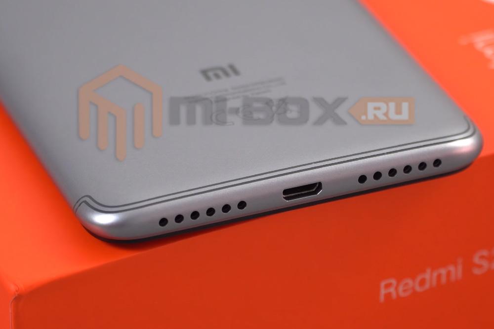 Обзор Xiaomi Redmi S2 - нижняя грань