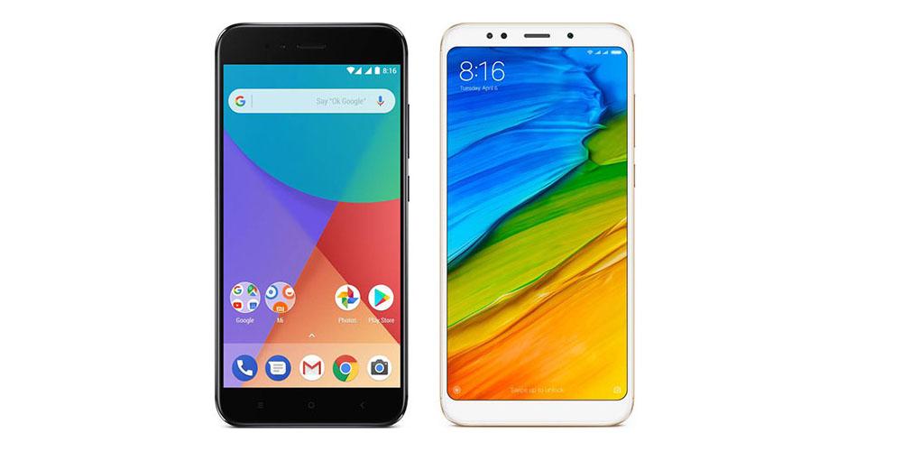 Смартфоны Xiaomi с дисплеем 18:9
