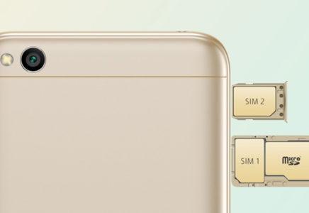Смартфоны Xiaomi с отдельным слотом для карты памяти
