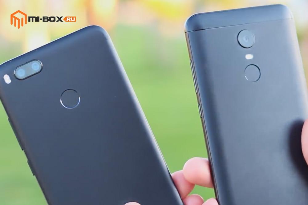 Xiaomi Mi A1 или Redmi 5 Plus - сравнение моделей