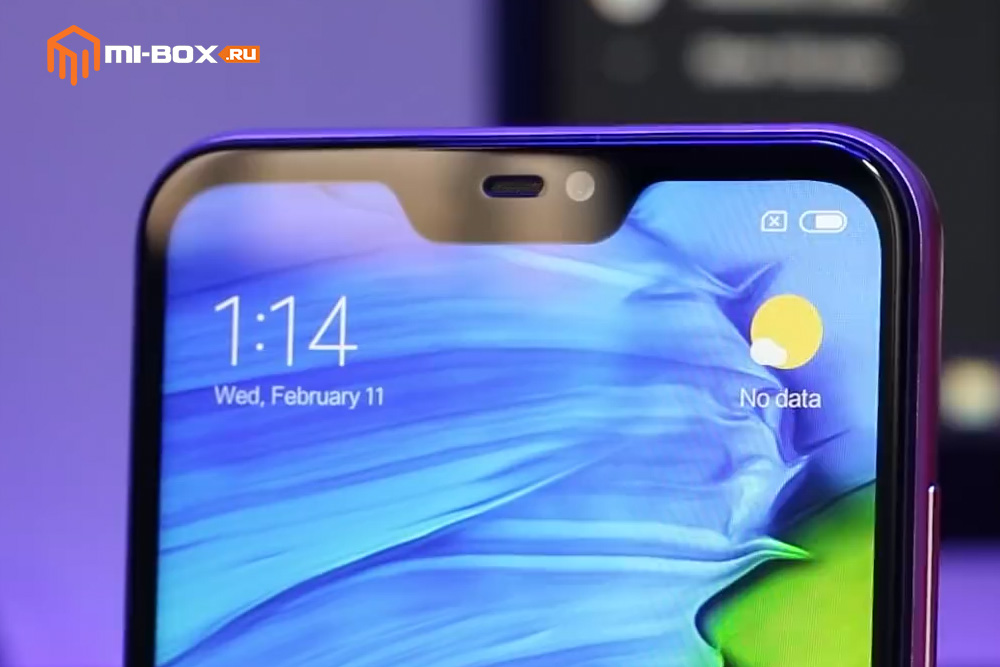 Обзор смартфона Xiaomi Redmi 6 PRO - фронтальная камера