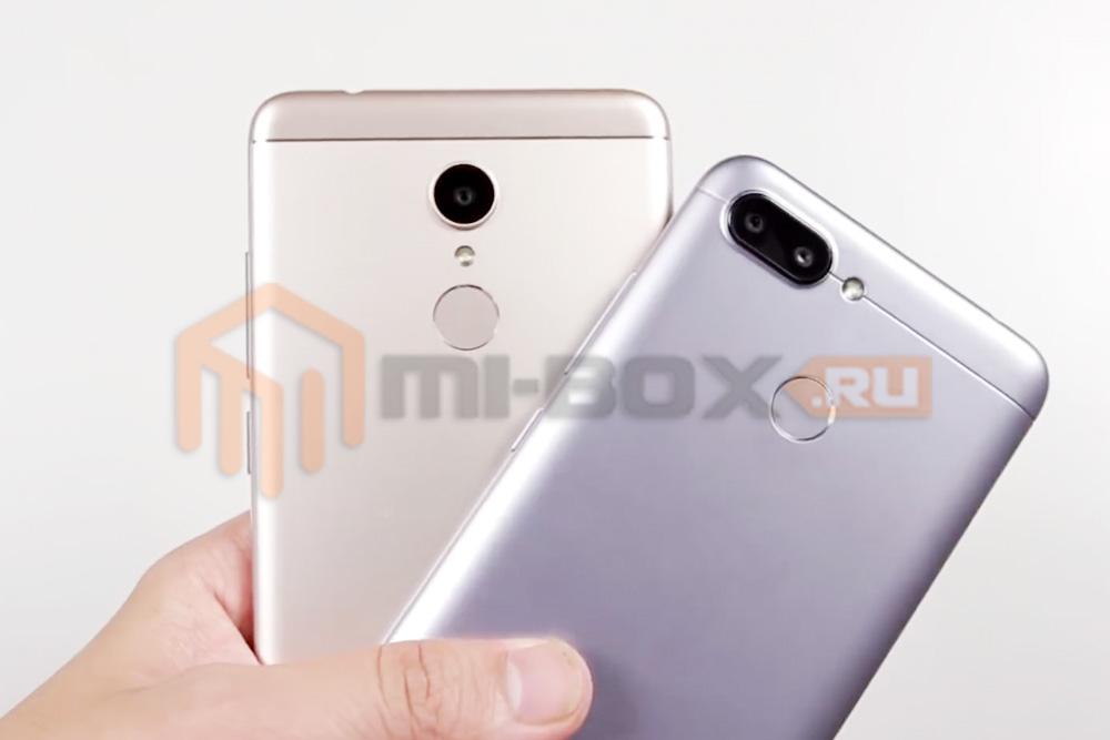 Сравнение Xiaomi Redmi 5 и Xiaomi Redmi 6 - камеры