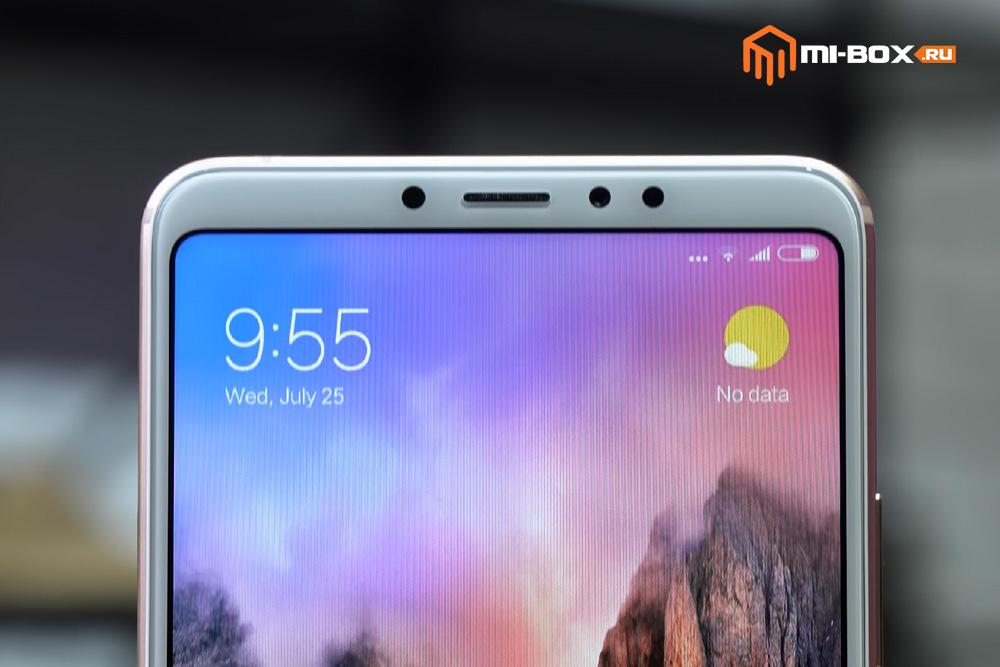 Обзор Xiaomi Mi Max 3 - фронтальная камера