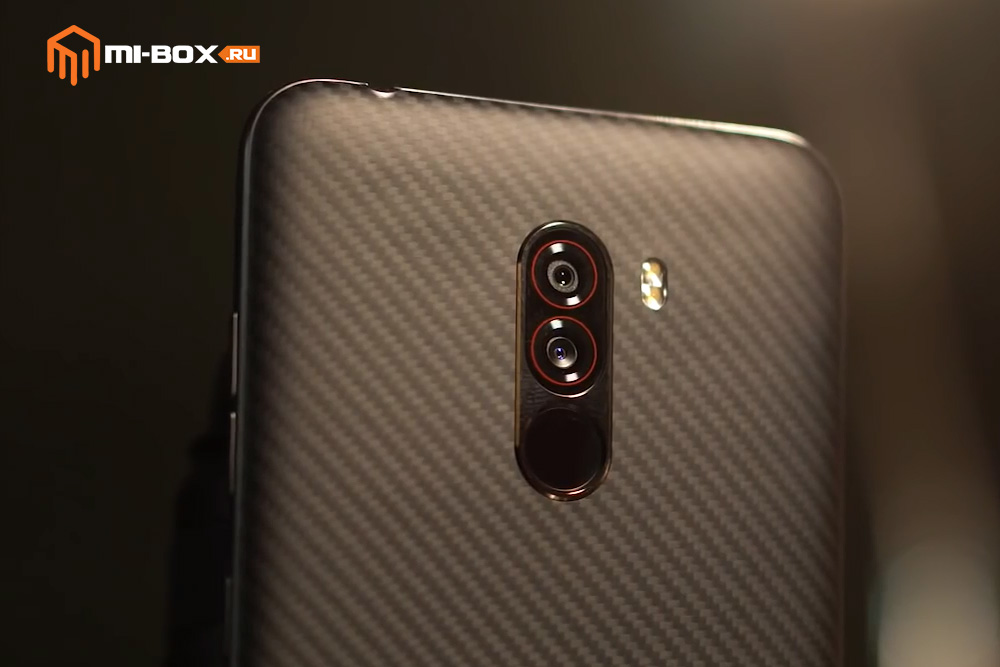 Обзор Xiaomi Pocophone F1 - основная камера и сканер отпечатков