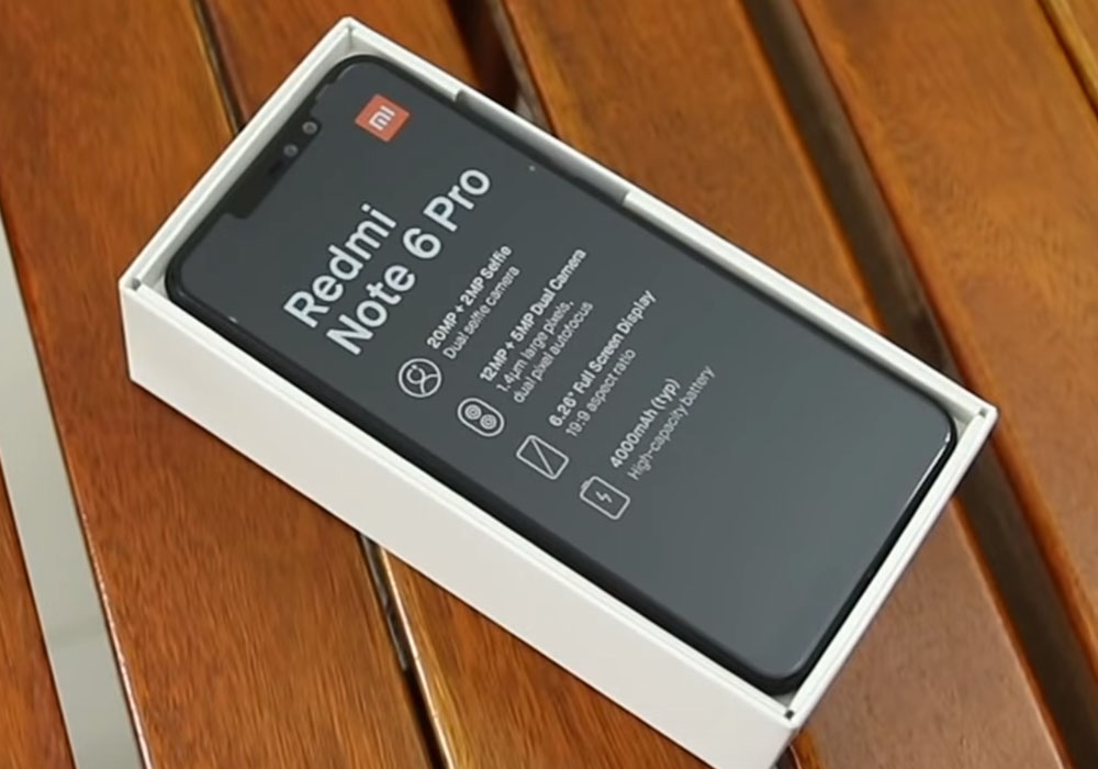 Redmi Note 6 PRO - первый смартфон Xiaomi с 4 камерами