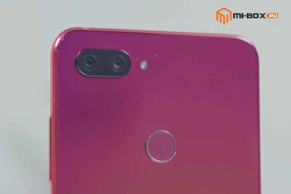 Обзор Xiaomi Mi 8 Lite - основная камера и сканер отпечатков пальцев