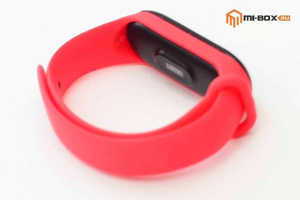 Красный ремешок для Xiaomi Mi Band 3