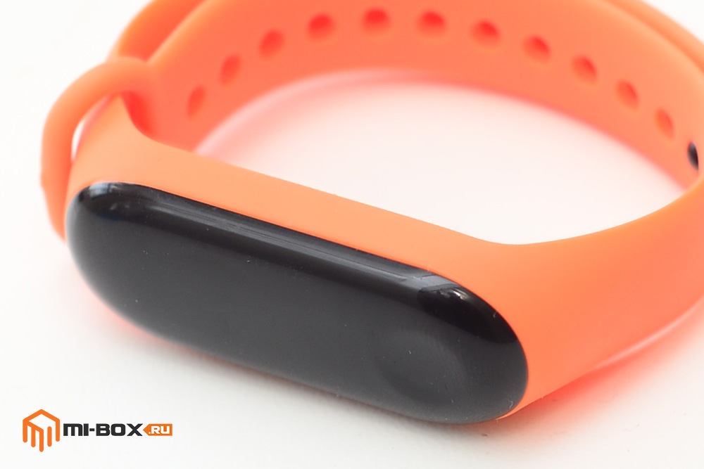 Оранжевый ремешок для Xiaomi Mi Band 3