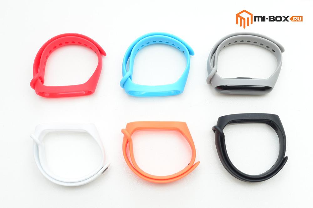 Ремешки разных цветов для Xiaomi Mi Band 3