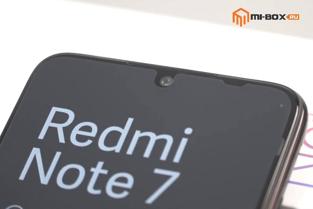 Обзор Xiaomi Redmi Note 7 - фронтальная камера