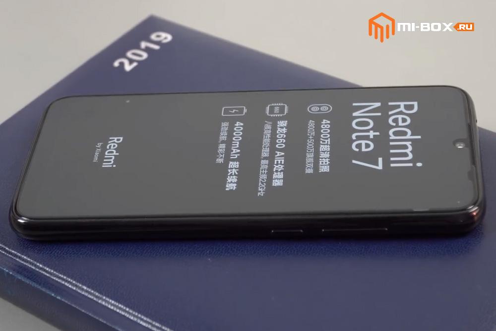 Обзор Xiaomi Redmi Note 7 - внешний вид