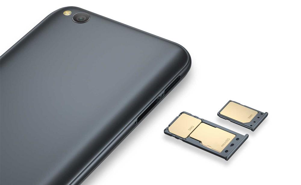 Xiaomi Redmi Go - 2 слота
