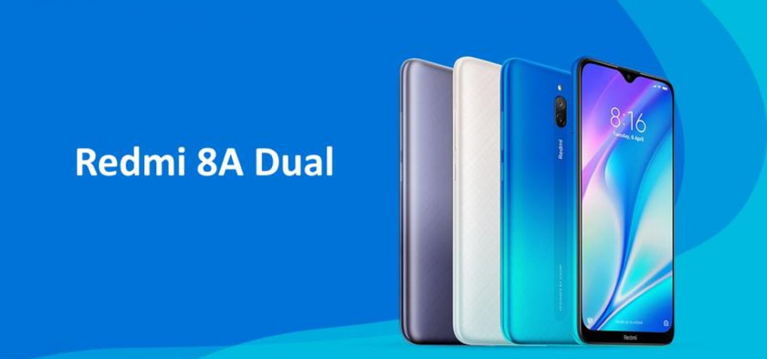 Xiaomi представил бюджетную модель Redmi 8A Dual