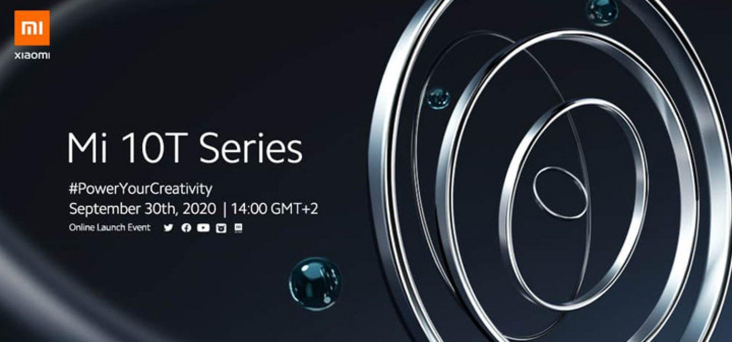 Смартфоны линейки Xiaomi Mi 10T покажут 30 сентября